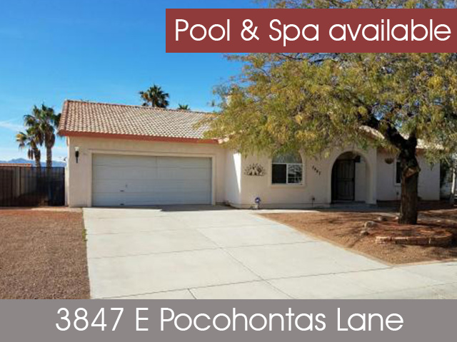 3847 E Pocohontas Lane, Bullhead City