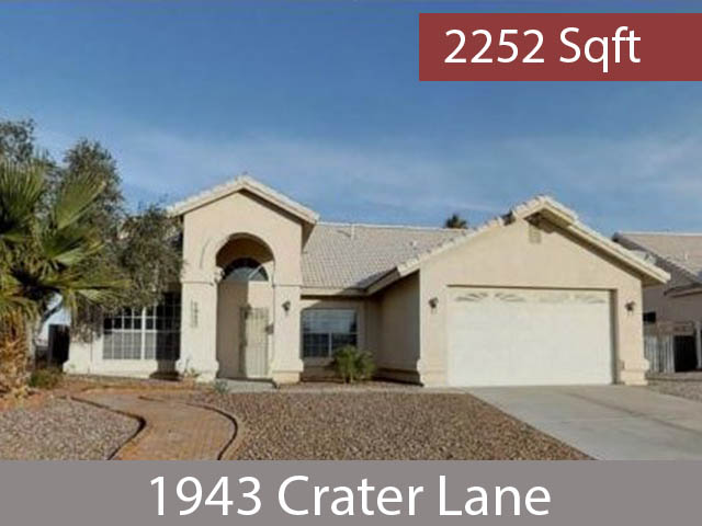 1943 Crater Lane Fort Mohave Arizona