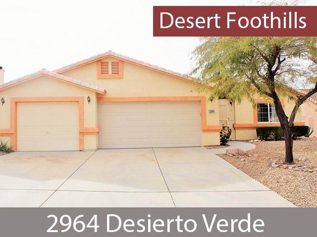 2964 Desierto Verde Bullhead City